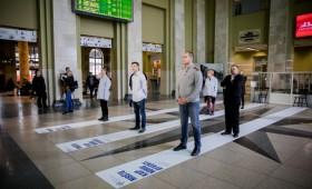 """Akcija """"Mirštu, kaip noriu gyventi"""" penktadienio rytą prasidėjo ir Vilniuje"""