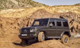 """""""Mercedes-Benz"""" oficialiai pristatė atnaujintą G klasės visureigį"""