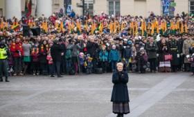 Valstybės atkūrimo šimtmečio proga Lietuvos pasveikinti atvyko užsienio šalių vadovai