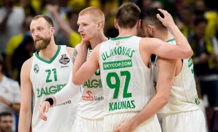 """Ketvirtame kėlinyje žaisti nustojęs """"Žalgiris"""" išgyveno: patiesė CSKA ir finišavo trečias"""