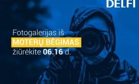 Jų nesustabdysi: Vilniuje gatvėse karaliauja bėgančios moterys