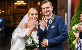 Susituokė Laura Navikaitė ir Rytis Žvagulis: santykius sutvirtino specialiuose kursuose