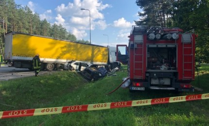 Vilniuje – dar viena masinė avarija, pranešama apie prispaustus žmones